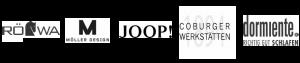 Logos der Firmen