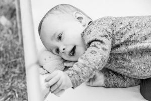 glückliches Baby
